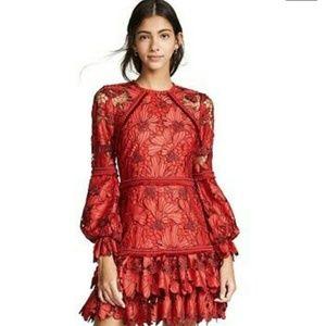 💃💃Fransisca Floral Lace Blouson-Sleeve💃💃